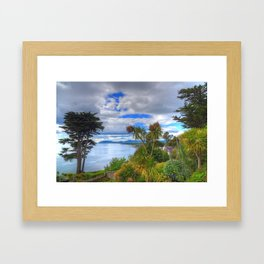 Killiney Hill in Ireland Framed Art Print