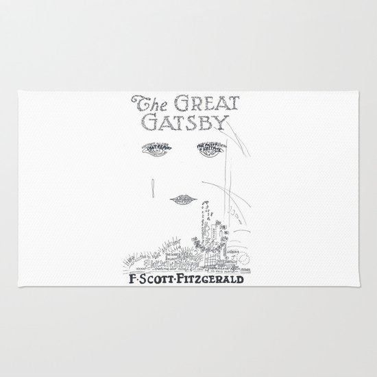 The Great Gatsby Rug