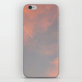 Contrail Clouds iPhone Skin
