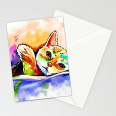 Color Cat Stationery Cards
