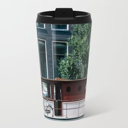 A Day in Amsterdam Travel Mug