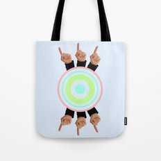 Ceilings of Sea Foam  Tote Bag