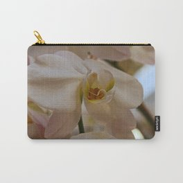 White Peabody Orchid II Carry-All Pouch