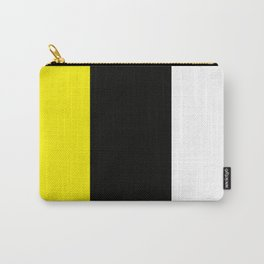Team Colors 7....yellow ,black,white Carry-All Pouch