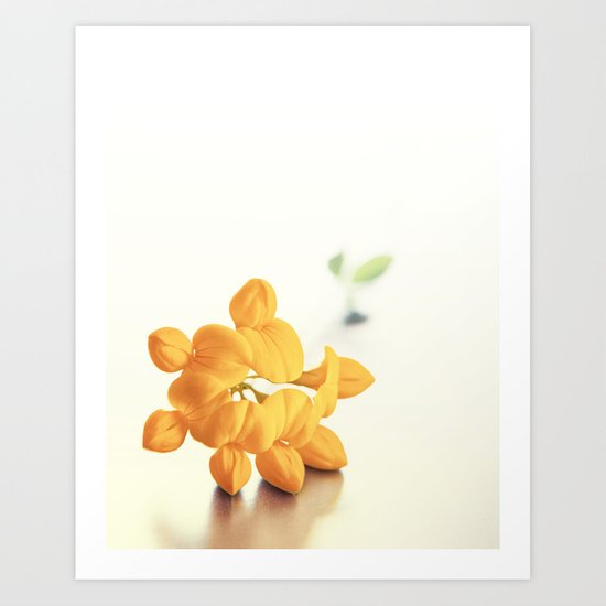 Yellow Clover Art Print