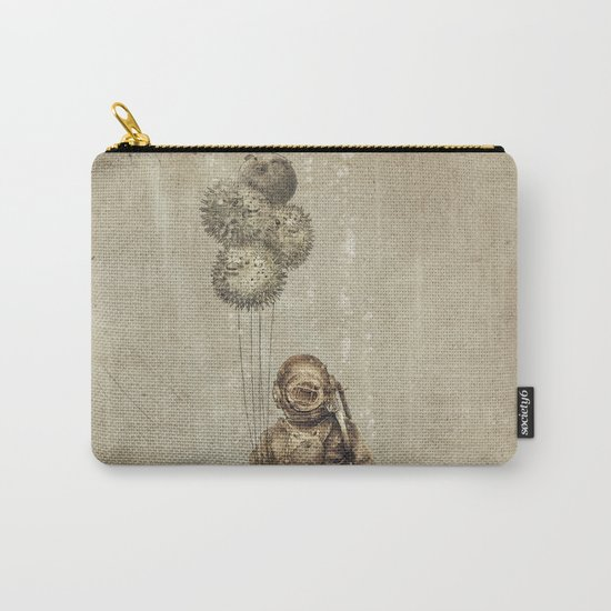 Balloon Fish (Sepia) Carry-All Pouch