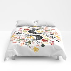 Moon Garden Comforters