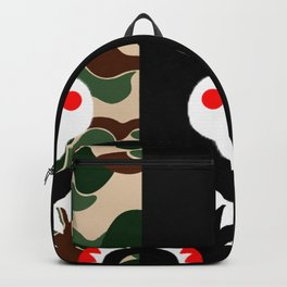 camo x black Backpack