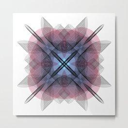 Ah Um Design #013c Metal Print