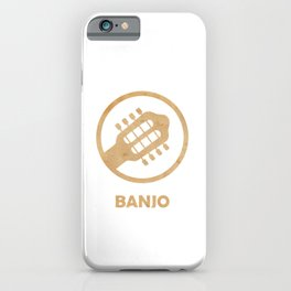 Awesome Banjo's Tshirt Design Billy Goat Banjo iPhone Case