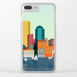City Boston Clear iPhone Case