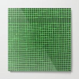 Left - Green Metal Print