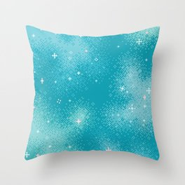 Winter Nebula Throw Pillow