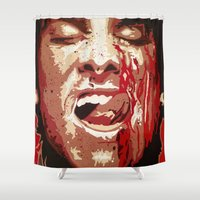 psycho Shower Curtains featuring Psycho by Earl of Grey