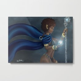 Dark Elf Metal Print