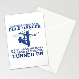 LINEMAN Stationery Cards