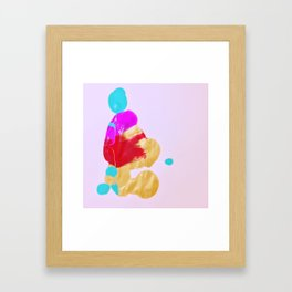 Rorschach No. 5: Zendo Framed Art Print