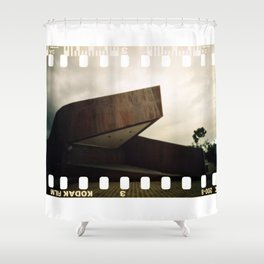 Calm Afternoon at Cicendo Park Shower Curtain