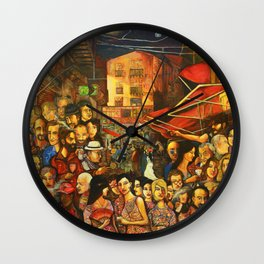 Vucciria#2013 Wall Clock