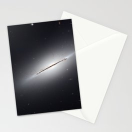 1703. Edge-On Galaxy NGC 5866  Stationery Cards