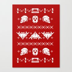 Merry Christmas A-Holes Canvas Print