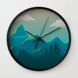 Rays on Mts. Wall Clock