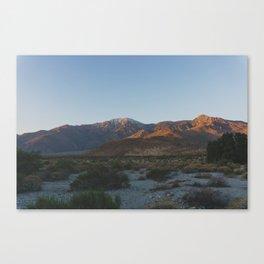 Mt San Jacinto - Pacific Crest Trail, California Canvas Print