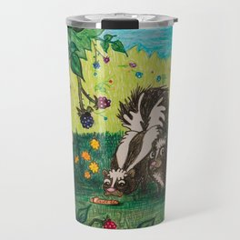 Skunk Picnic Travel Mug