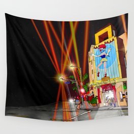 venice beach marionette Wall Tapestry