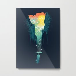 I Want My Blue Sky Metal Print