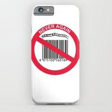 Olocausto Never Again Slim Case iPhone 6s