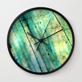 Stained Glass Texture Wall Clock