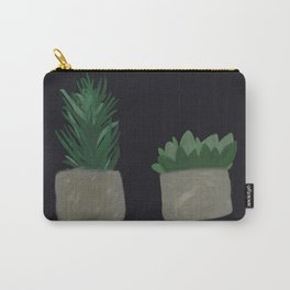 Two Plants in a Pod Carry-All Pouch