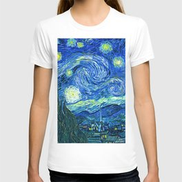 Starry Night at St. Remy T-shirt