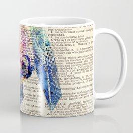 DICTIONARY ART #TIE FIGHTER Coffee Mug