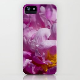 The Pinks of Peony iPhone Case