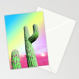 Pastel Cactus Stationery Cards