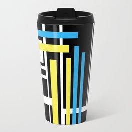 geometric art 1 Travel Mug
