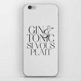 Gin iPhone Skin