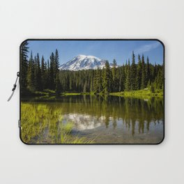 Mt Rainier from Reflection Lake, No. 3 Laptop Sleeve