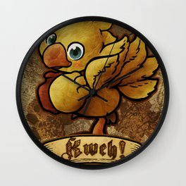 Chocobo Kwe ! Wall Clock