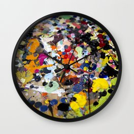 Palette. In the original sense of the word. Wall Clock