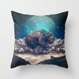 Under the Stars | Ursa Major Throw Pillow
