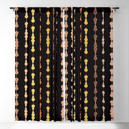 Multi-faceted decorative lines 14 Blackout Curtain