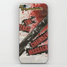 Texas Chainsaw Massacre iPhone & iPod Skin