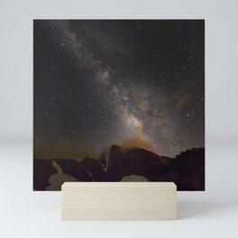 Milky way at 3400 meter hight. Scorpius and Sagitarius Mini Art Print