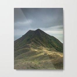 Sharp Peak Metal Print
