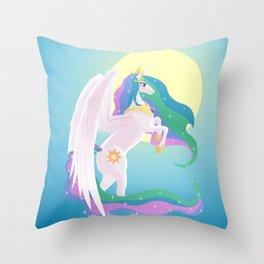 Sunlight Princess Throw Pillow