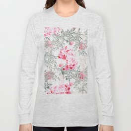 PINK ORCHIDS IN SPRING BLOOM Long Sleeve T-shirt