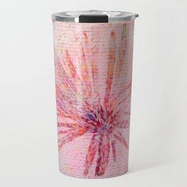 Abstract Street Art Flower Travel Mug